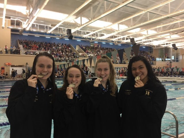 Lady Tigers swimmers place seventh at state