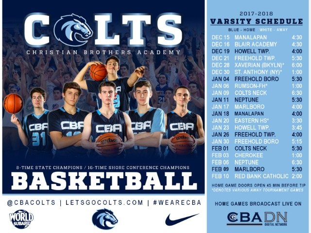 Colts Hit the Hardwood Tuesday at the Academy