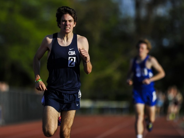 McInerney Sets State Best Time, CBA Wins County Title