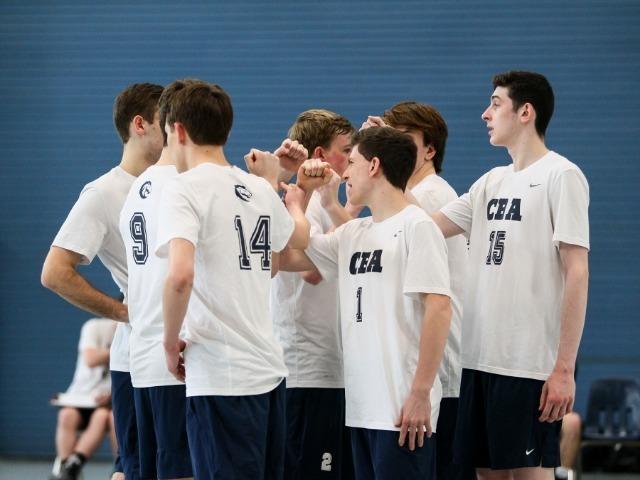 CBA Hosts First-Ever Catholic Volleyball Quad