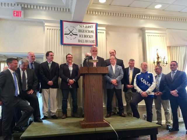 State Champion 1983 Hockey Team Inducted into NJ Hall of Fame