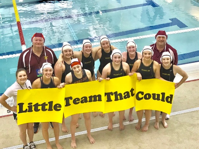 Hornet Water Polo takes 7th at State.