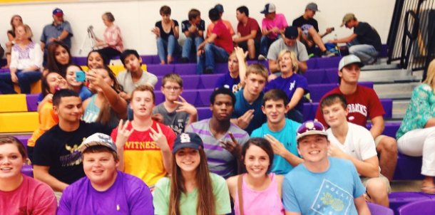 Volleyball Goon Cat Student Section