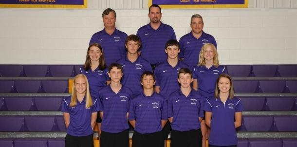 2015 Golf team