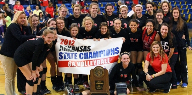 2012 6A State Volleyball Champions