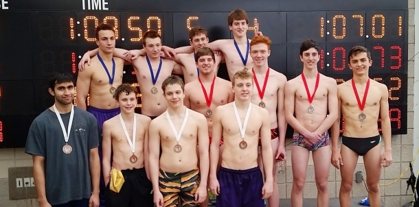 200 Free Relay Central District Championship Runner Ups