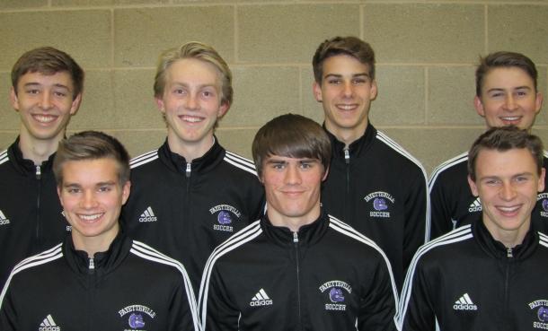 Boys Soccer Seniors 2014