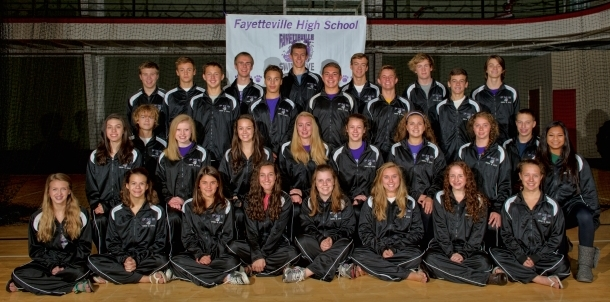 2013-14 FHS Swim and Dive Team