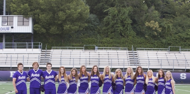 2014-15 Senior Cheerleaders