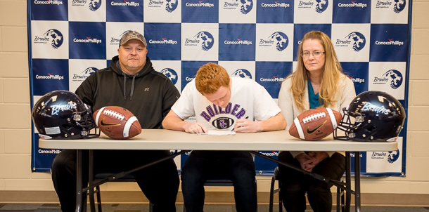 Pollard Signs Letter of Intent with Southwestern MoundBuilders in Winfield Kansas