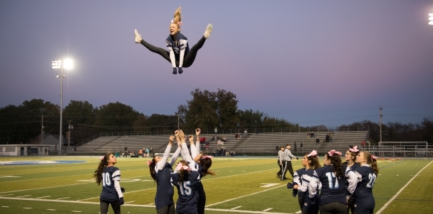 Cheer Goes Sky High with Spirit