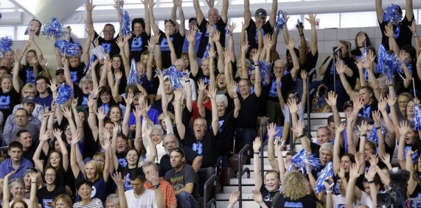 Bruin Faithful Cheer Bruins On to Girls State Championship and Boys To Runner Up Finish!