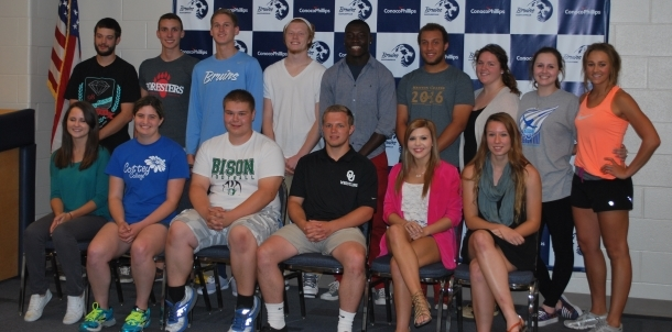 2013-2014 Athletic Signees!
