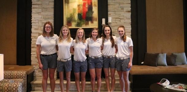 2016 Lady Bruin Golf Team