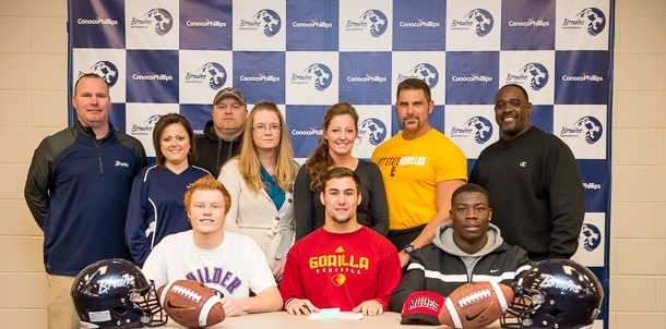 Congrats to Bruin Football Signee's and Families!