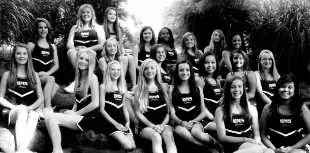 2013-2014 8th Grade Cheerleaders