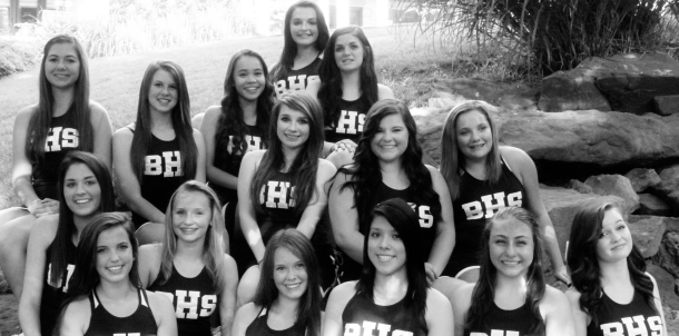 2013-2014 JV Cheerleaders