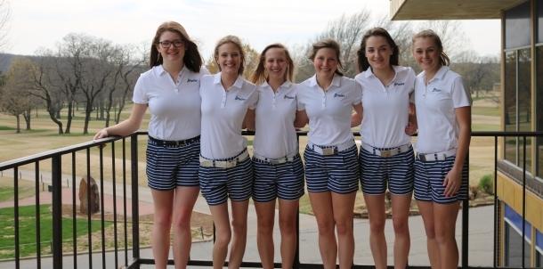 2016 Lady Bruins Golf Team!