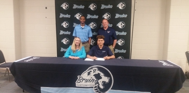 Congrats to Daniel Schroeder for Signing to Play Basketball for OKWU!