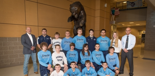 2015 Junior High Wrestling Team