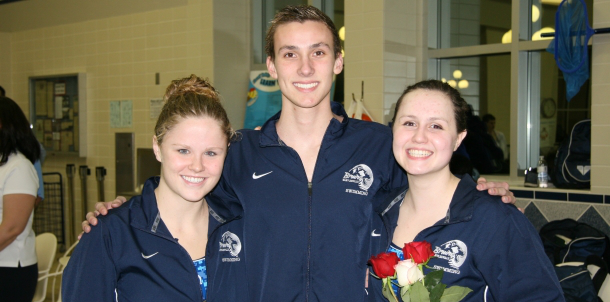 Senior Night For Bruin Swimmers