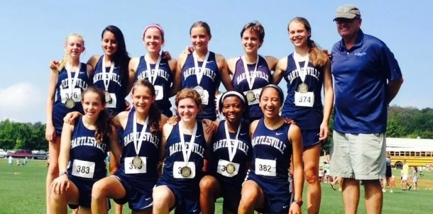 Lady Bruin Pacers Take First at Holland Hall!