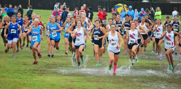 Bruin Cross Country Sweeps Home Event!