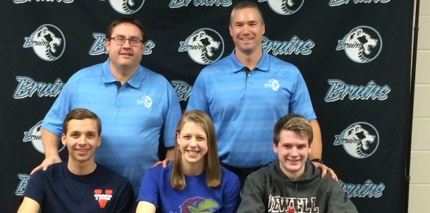 Bruin Swimming Signs Three to Major Universities!
