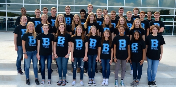 2016-17 Bruin Swim Team!