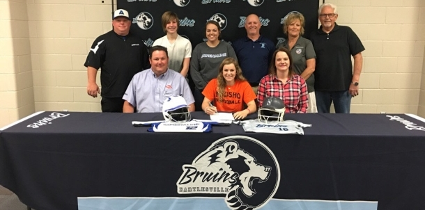 Kiersten Brown signing to play at NEOSHO!