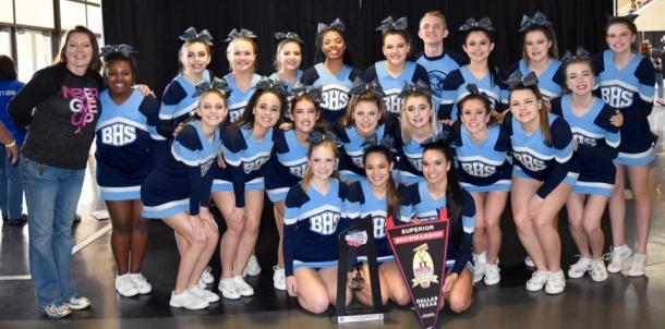 Cheer Takes Runner Up Trophy at Nationals!