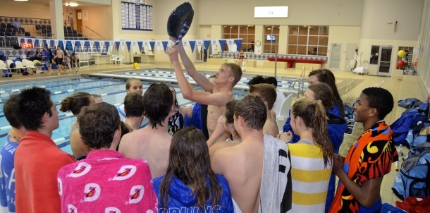 Bruin Swimmers Capture Conference Crown