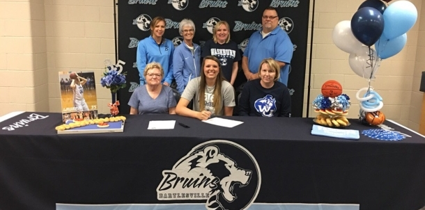 Lauren Richter Signs to Play at Washburn!