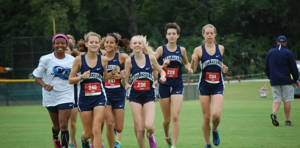 Lady Bruins Run to Another First Place Finish!