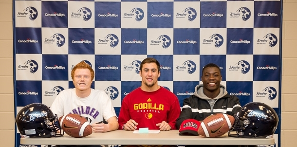 Three Bruin Football Players Sign Letters of Intent!