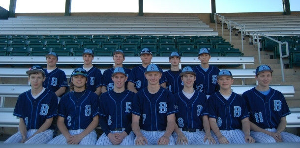 2015 JV Blue Baseball