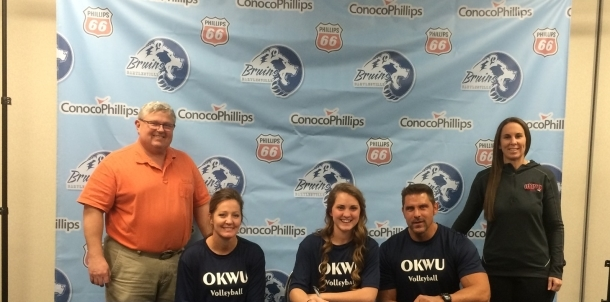 Shanaye Nordic Signs Letter of Intent to Play Volleyball at OKWU!