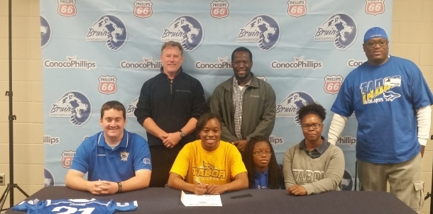 Kayla McKelvin Signs Letter of Intent to play at Tabor!