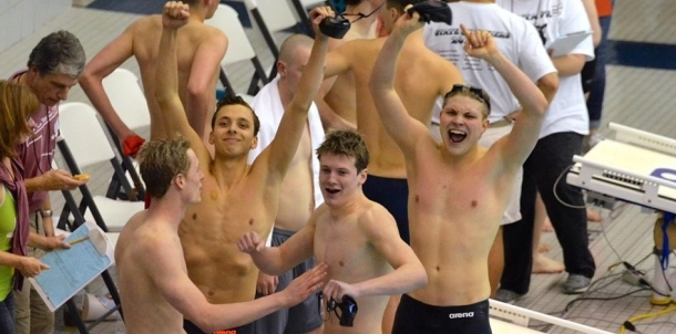 Kyle Ward Selected To Tulsa Worlds' Swimmer of the Week!