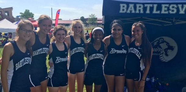 Lady Bruin Tracksters Place 3rd Overall in State Championship!