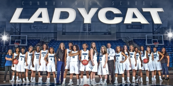 2015-16 Lady Cat Basketball Team