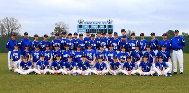 2016 Wampus Cat Baseball Team