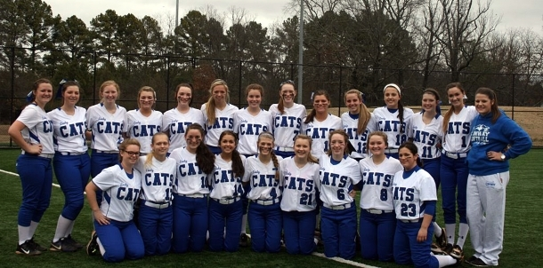 2015 Lady Cat Softball Team
