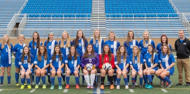 2016 Lady Cat Soccer team