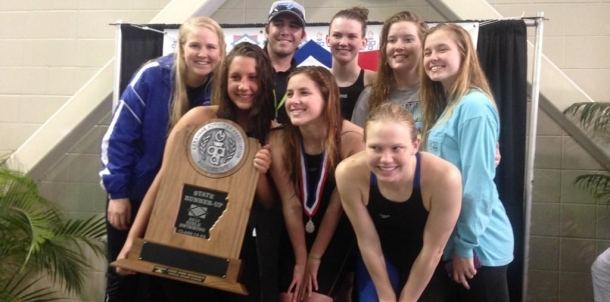 Congrats to the Girls Swim Team for being State Runner Up!