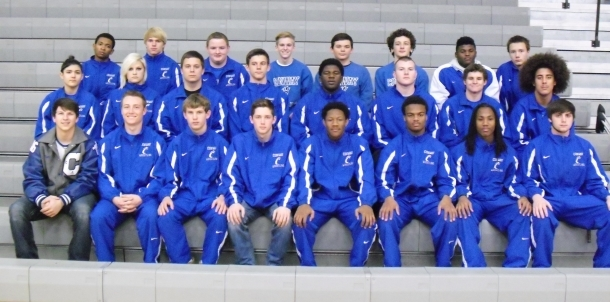 2016 Wampus Cat Wrestling Team