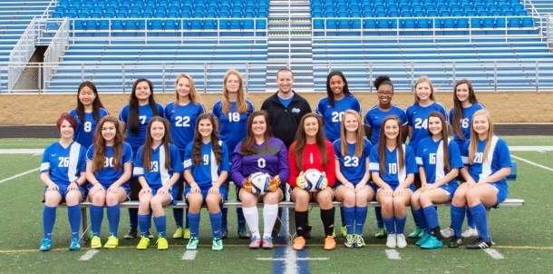 2016 Lady Cat JV Soccer Team