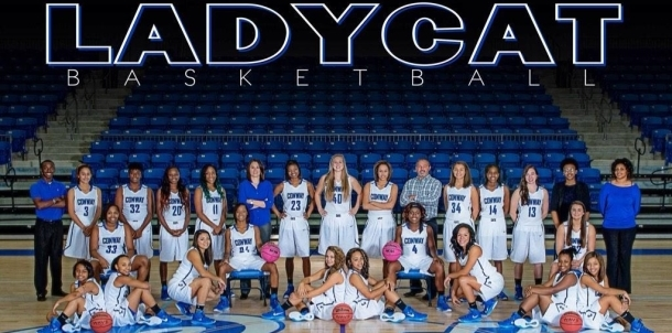2014 Lady Cat Basketball Team
