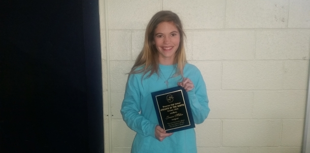 Jenson Miller - October Female Athlete of the Month