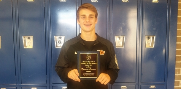 Christian Patterson - October Male Athlete of the Month